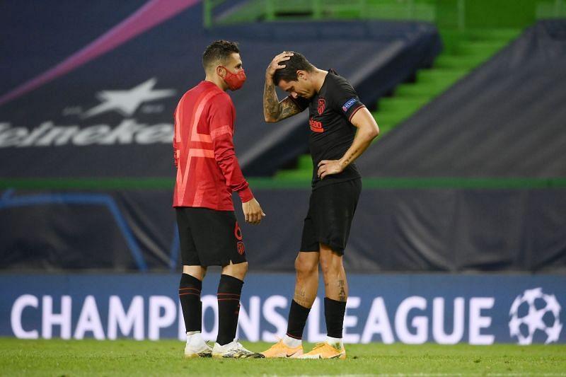 Atletico Madrid have a few injury concerns