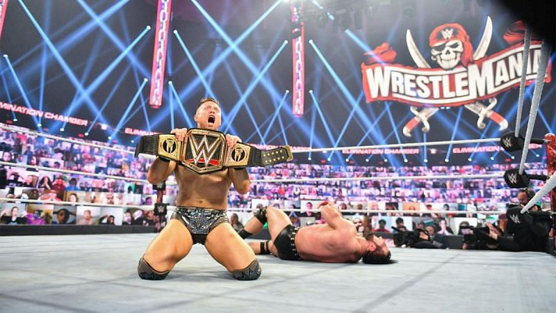 The Miz defeated Drew McIntyre to become the new WWE Champion