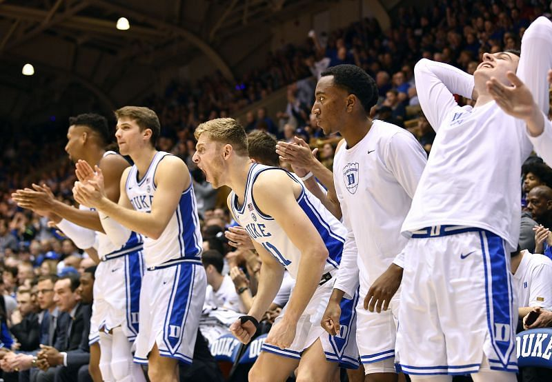 The Duke Blue Devils have an above .500 record at 9-8