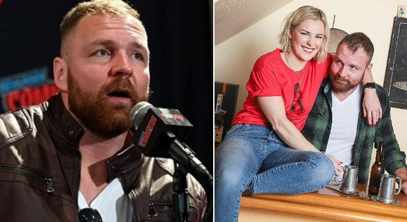 Jon Moxley and Renee Paquette