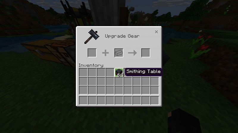 Smithing Table