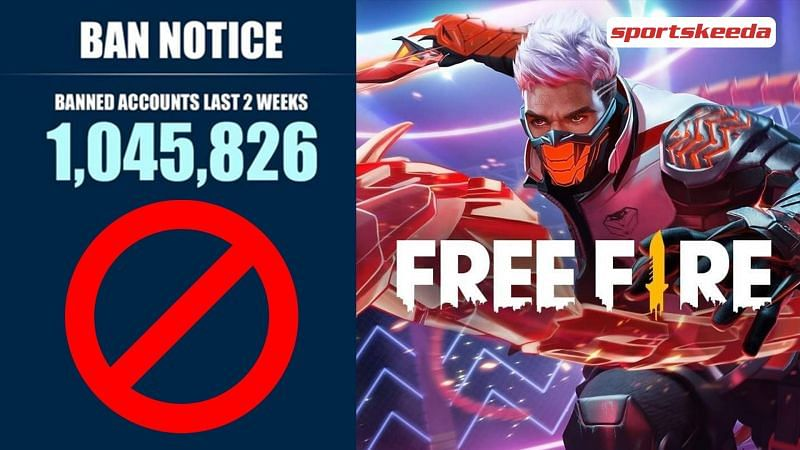1,045,826 Free Fire accounts banned for cheating in the last two weeks - Sportskeeda