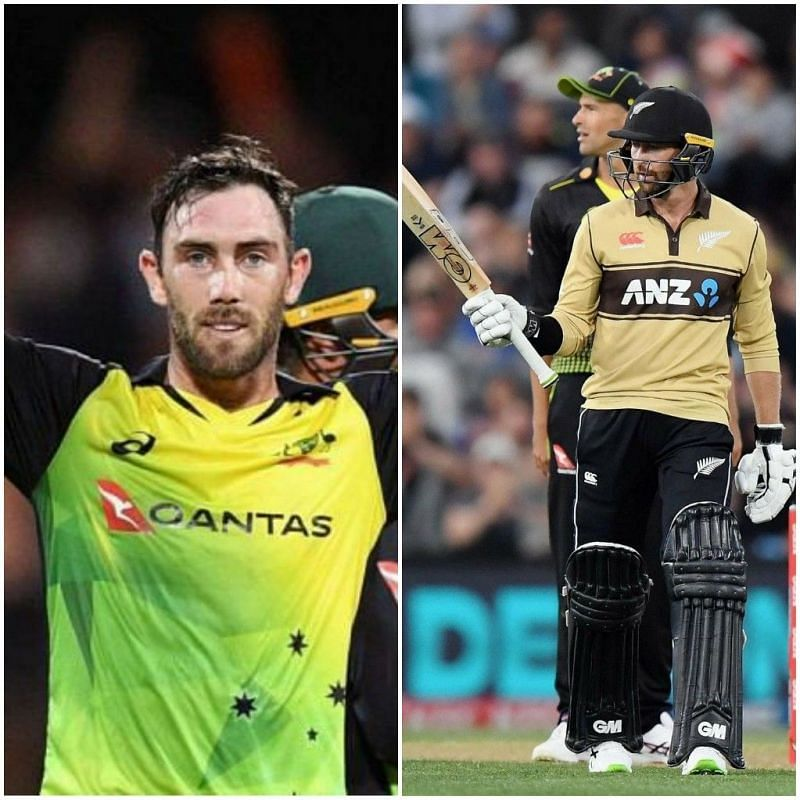 Glenn Maxwell (L) was picked up by RCB ahead of IPL 2021. Devon Conway (R) went unsold.