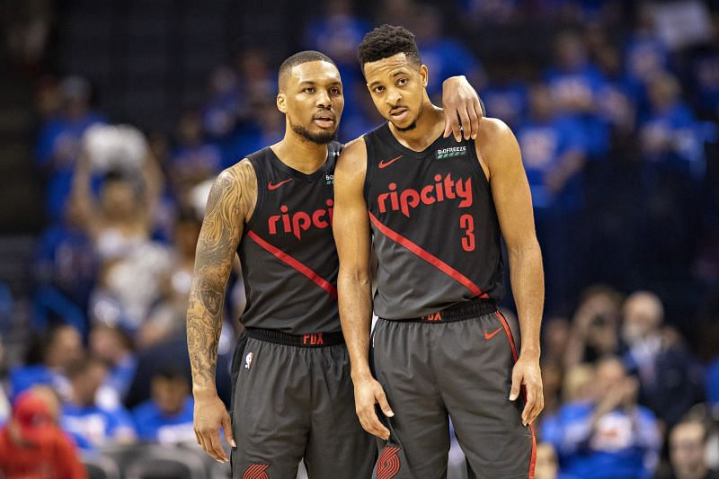 Simons is set to be behind Lillard and McCollum in the pecking order