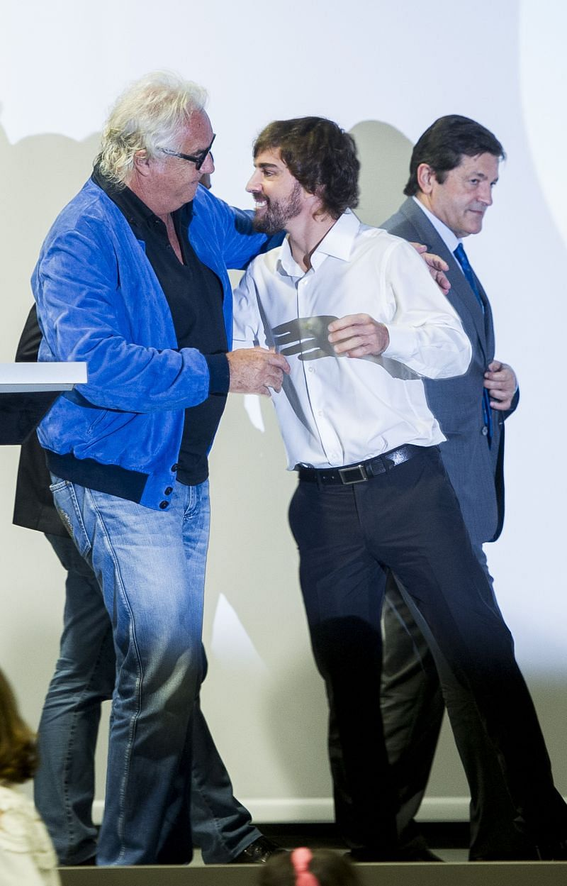 Fernando Alonso and Flavio Briatore have always had a close relationship. (Photo by Juan Manuel Serrano Arce/Getty Images)