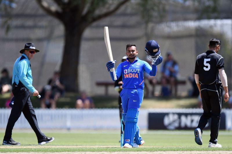 Prithvi Shaw scored a double century for the Mumbai cricket team