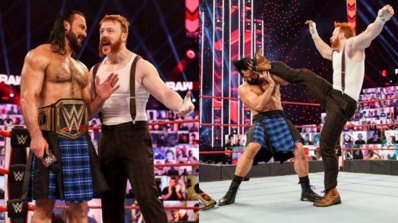 शेमस ने इस हफ्ते WWE Raw में ड्रू मैकइंटायर पर हमला कर दिया था