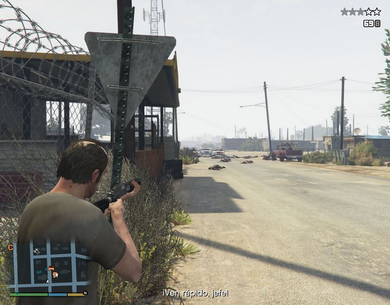 Wanted Levels provide a challenge for players to try to overcome (Image via GTA5-Mods.com)