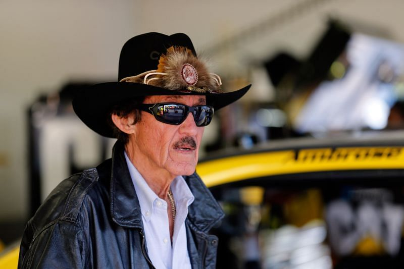 Richard Petty at Sprint Unlimited - Practice