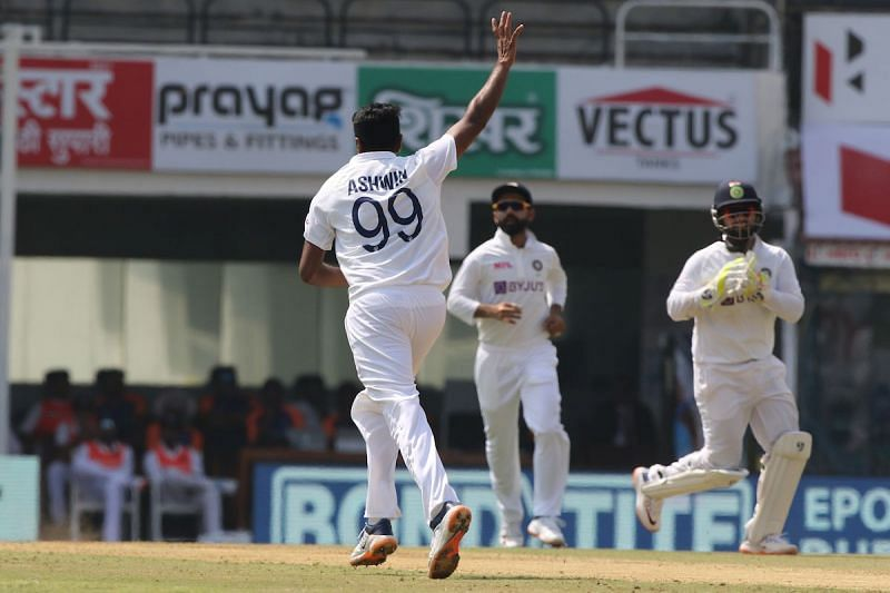 Ashwin picked the first wicket for India on Day 1