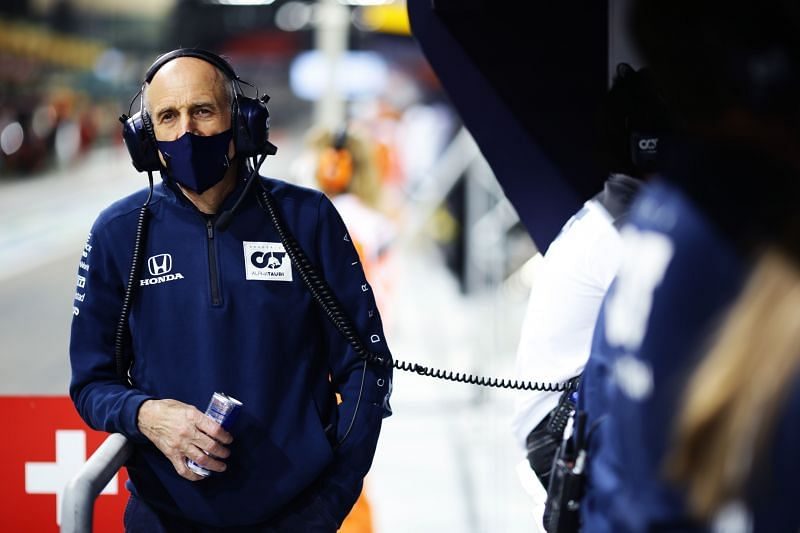 Franz Tost is not impressed with the young Russian. Photo: Getty Images
