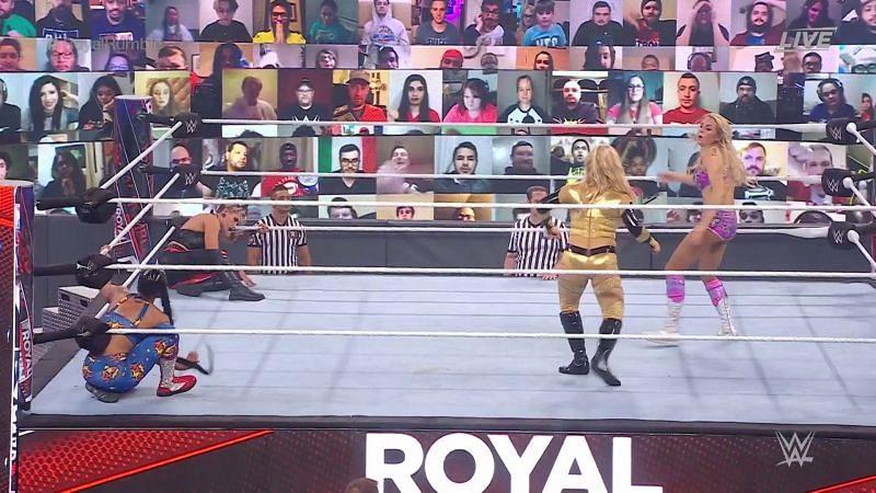 बियांका ब्लेयर ने शानदार प्रदर्शन करते हुए जीता Royal Rumble मैच