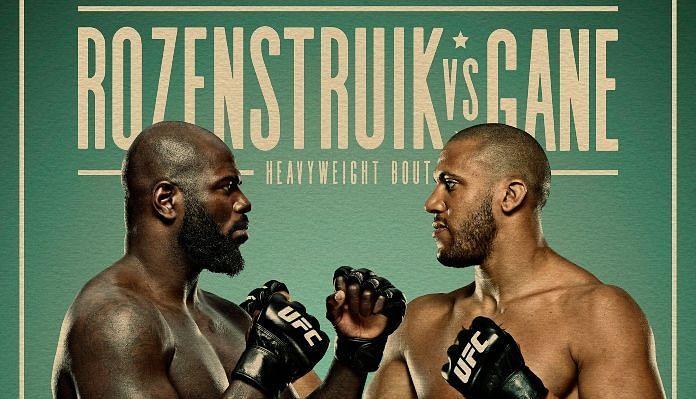 UFC Vegas 20 Rozenstruik vs Gane