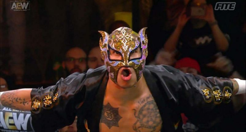 Rey Fenix has been on fire in the ring for AEW so far in 2021.