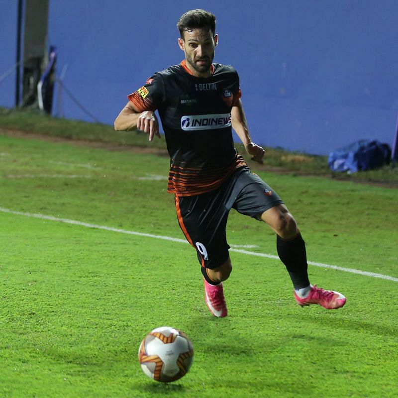 Jorge Ortiz has played in multiple positions for his side. (Image: ISL)