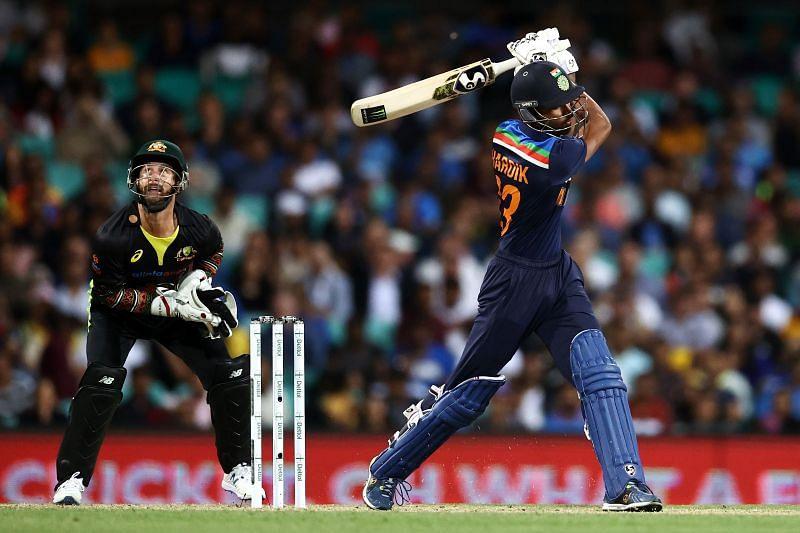 Hardik Pandya returned home after the limited-overs series against Australia