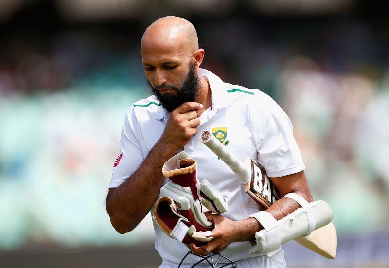 Hashim Amla struggled for runs towards the end of his career
