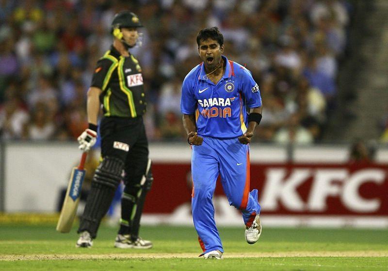 Vinay Kumar scalped 10 T20I wickets