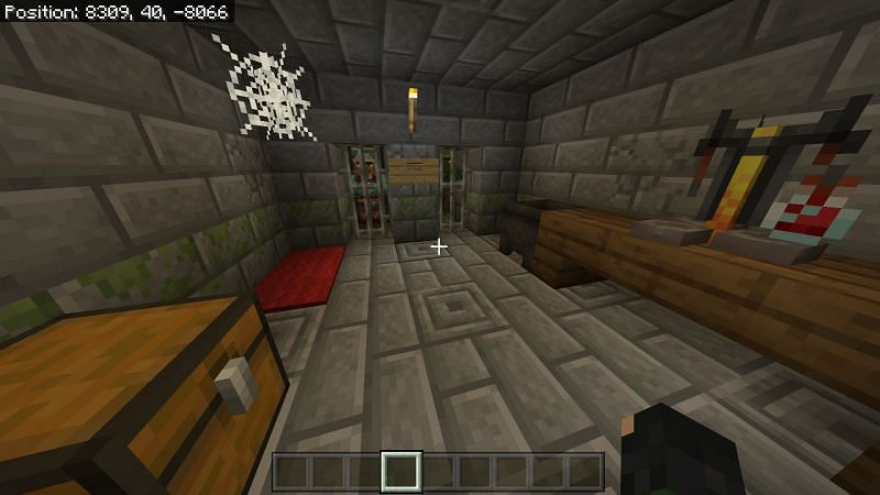 Minecraft Igloos with basement