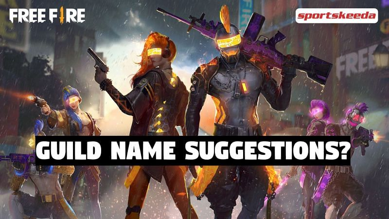 Free Fire Guild Names
