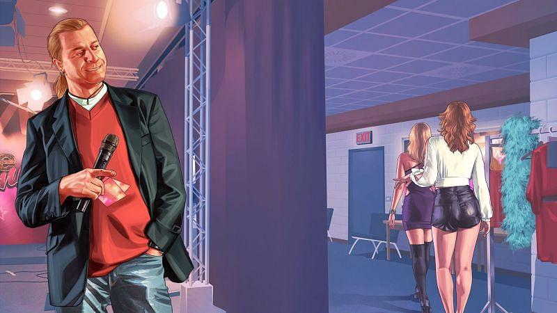 Lazlow Jone has appeared in nine GTA titles (Image via Rockstar Games)