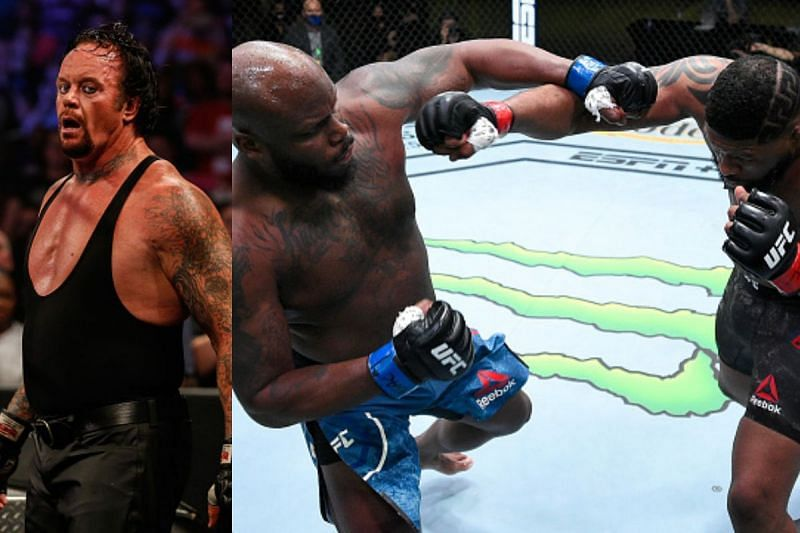 Derrick Lewis brings up The Undertaker in post-fight press conference