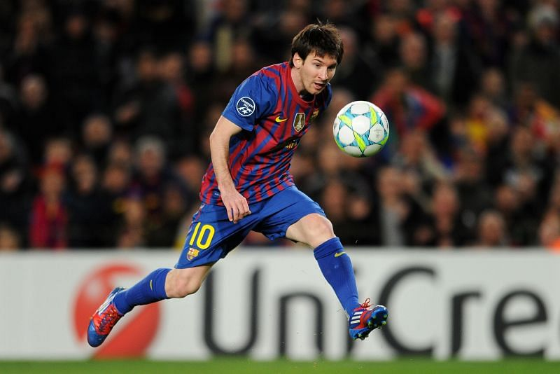 Lionel Messi was unstoppable in 2012, netting a staggering 91 goals.