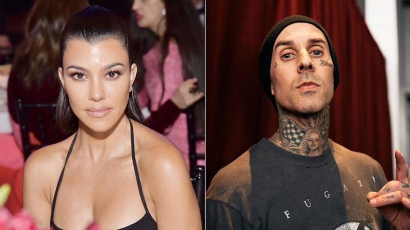 Kourtney Kardashian and her boyfriend Travis Barker went Instagram official (image via lifeandstylemag)