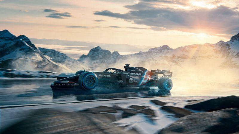 Alpine GP will launch their 2021 challenger on March 2. Photo: Alpine F1 Team