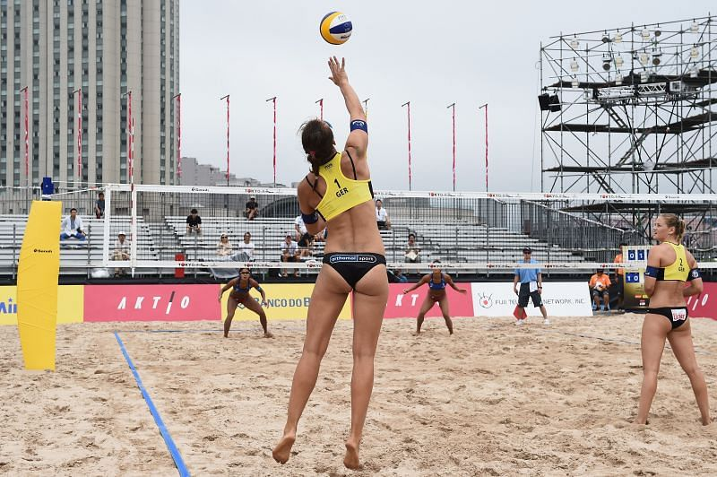 FIVB Beach Volleyball World Tour Tokyo - Day 4