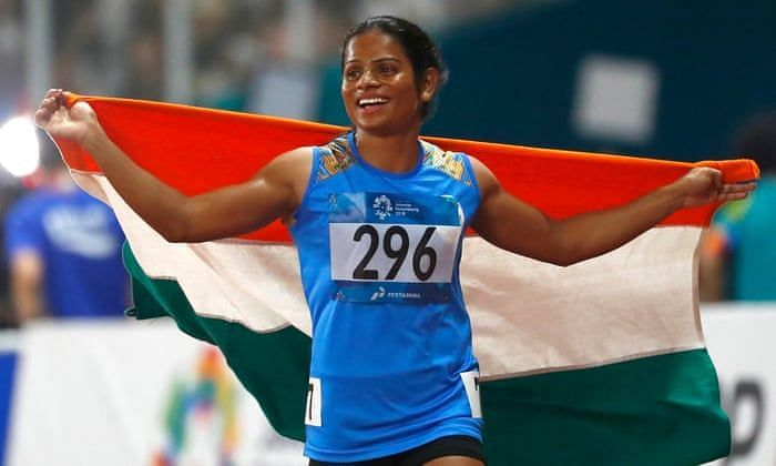 Dutee Chand won back-to-back gold medals at Indian Grand Prix I and Indian Grand Prix II