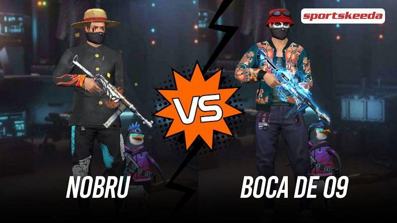 Garena Free Fire: Nobru vs Boca De 09