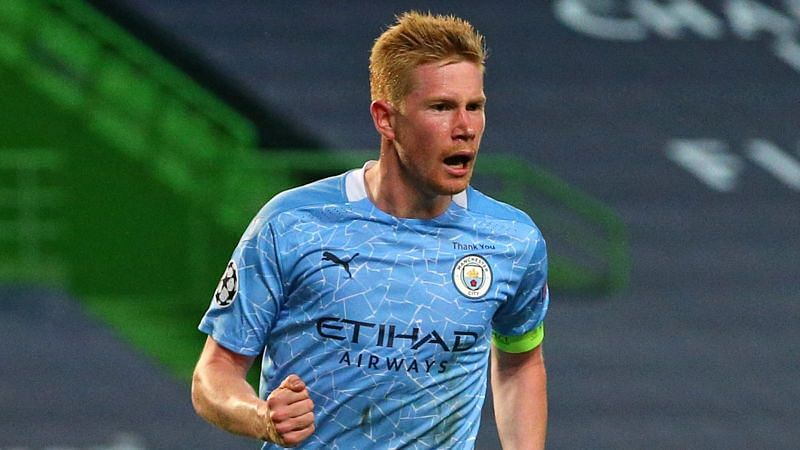 Kevin de Bruyne is set to start for Manchester City