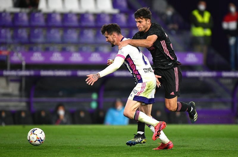 Real Madrid defeated Real Valladolid