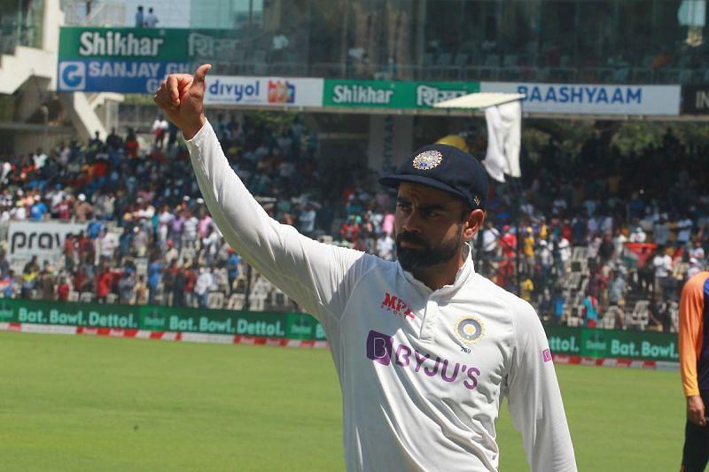 Virat Kohli broke his four-Test losing streak on Tuesday