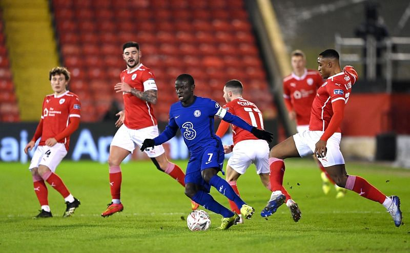 Barnsley pushed Chelsea to the limit