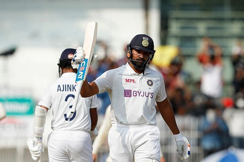 Rohit Sharma scored a brilliant 161 in the second Test against England. Pic Courtesy: BCCI