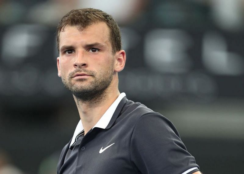 Grigor Dimitrov delivered a strong serving performance in the first round.