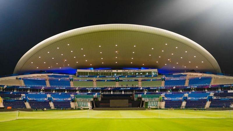 शेख जायद क्रिकेट स्टेडियम ,अबू धाबी