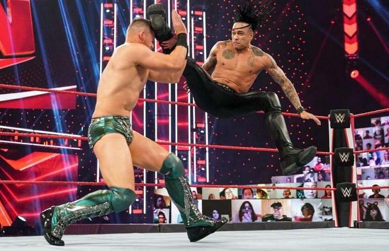 Damian Priest making his RAW debut - Photo credit: WWE via GiveMeSport