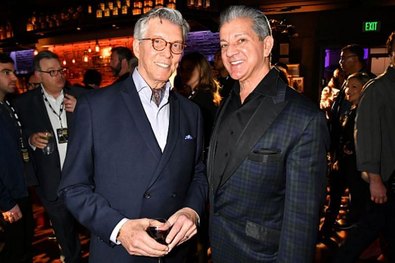 What is the relationship between UFC's Bruce Buffer and legendary boxing and WCW announcer Michael Buffer?
