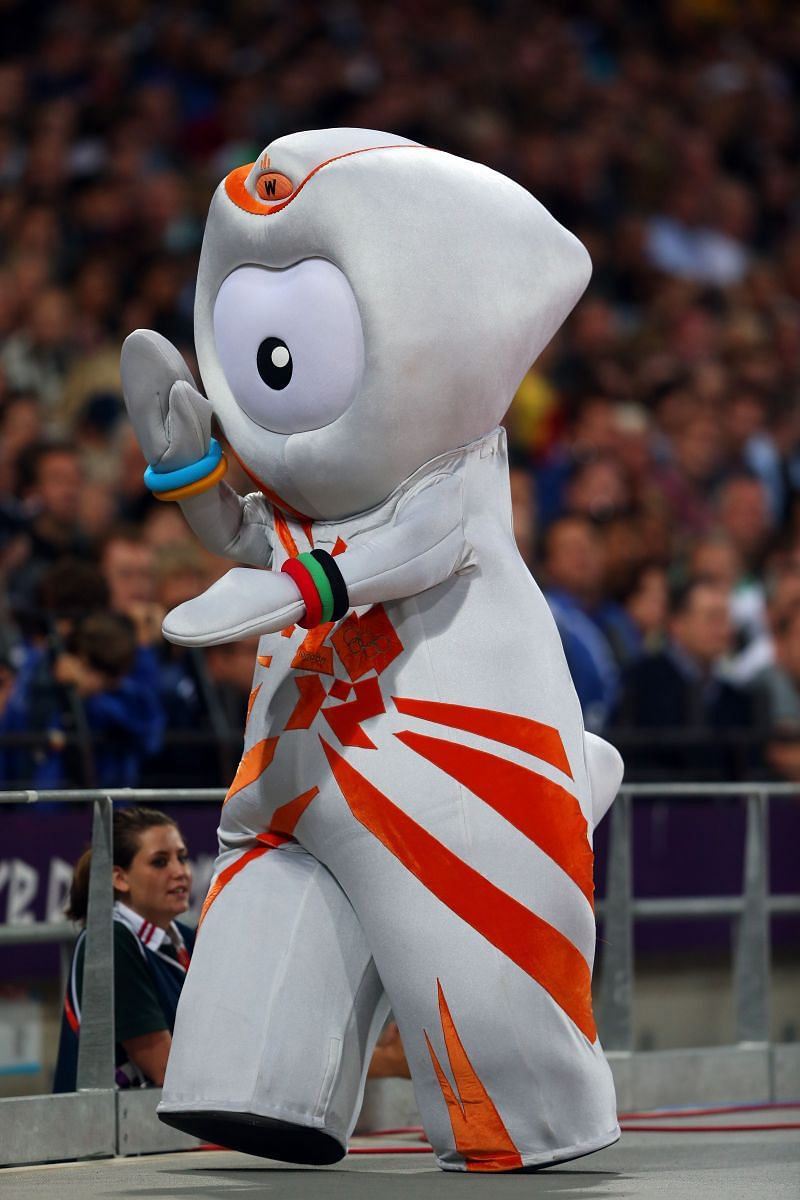 Wenlock, the official mascot for London Olympics in 2012.