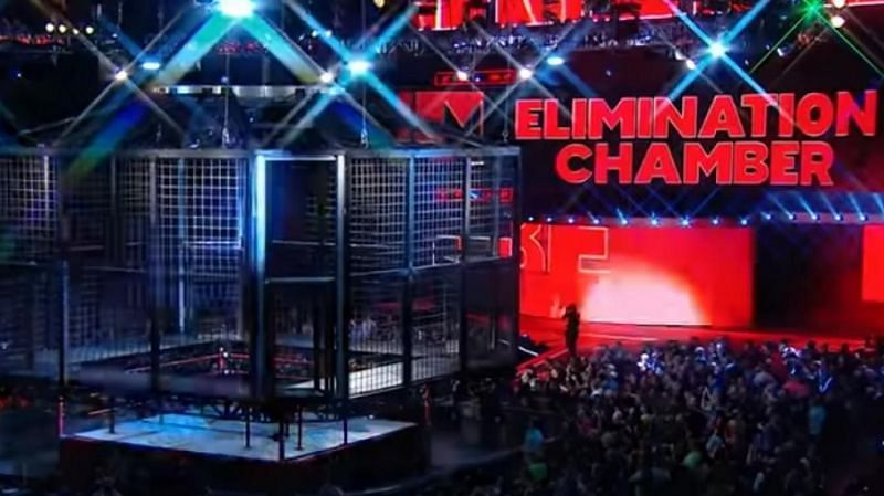 The 2021 Elimination Chamber PPV is this Sunday
