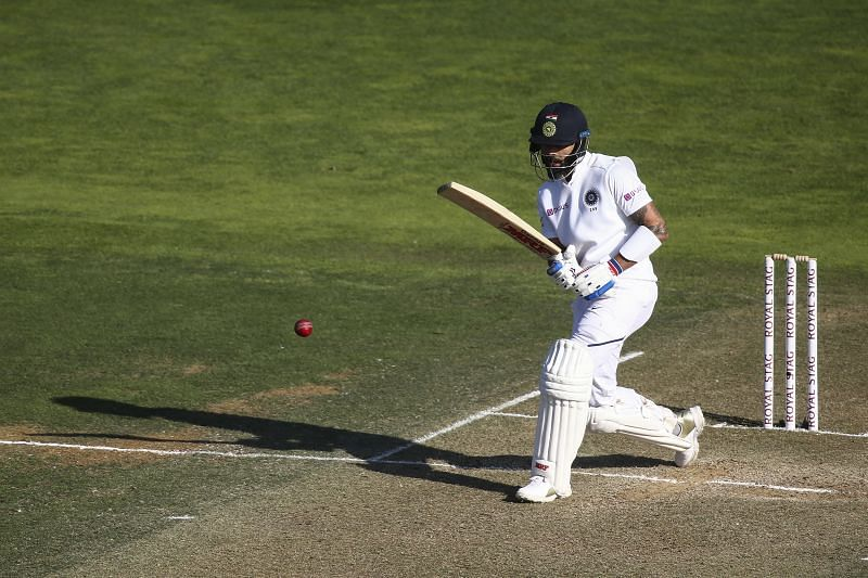 Virat Kohli looked at ease while playing against the spinners