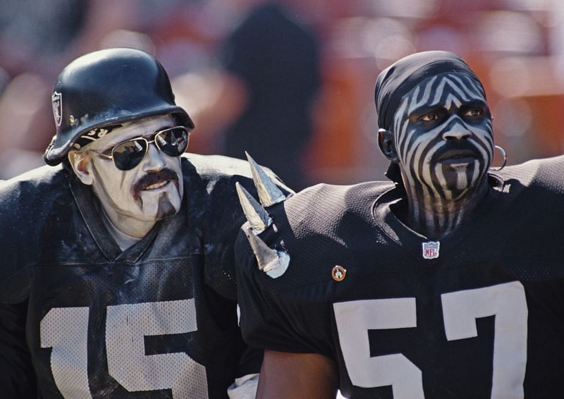 Oakland Raiders have the most loyal fans