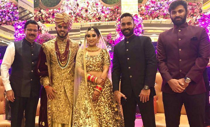 Nitish Rana Wedding Photos