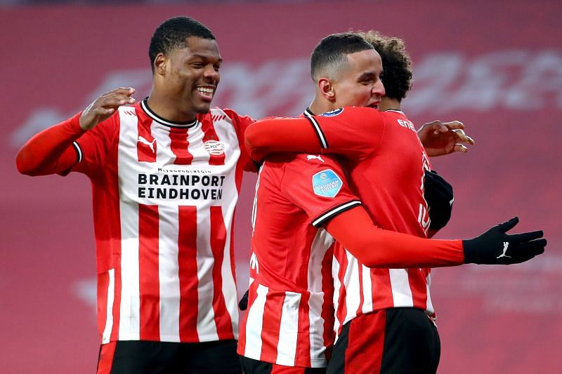 PSV Eindhoven play Vitesse on Sunday