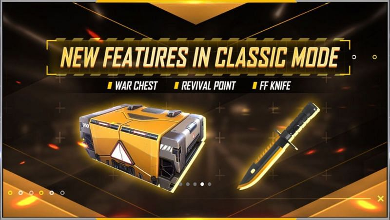 New features in the classic BR mode in Free Fire