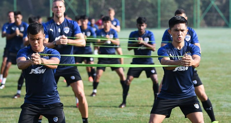 Bengaluru FC have an outside chance of making it to the top-four (Image courtesy: ISL)