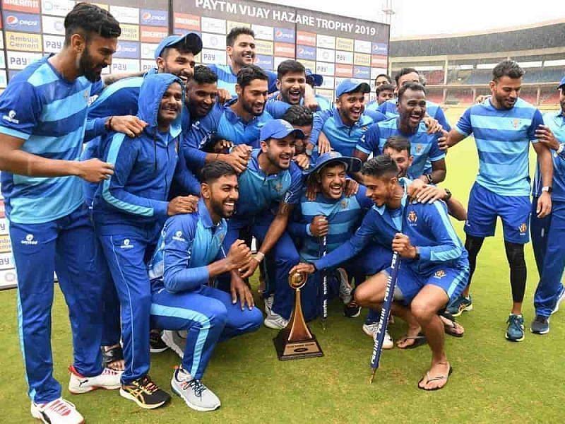 Vijay Hazare Trophy 2021